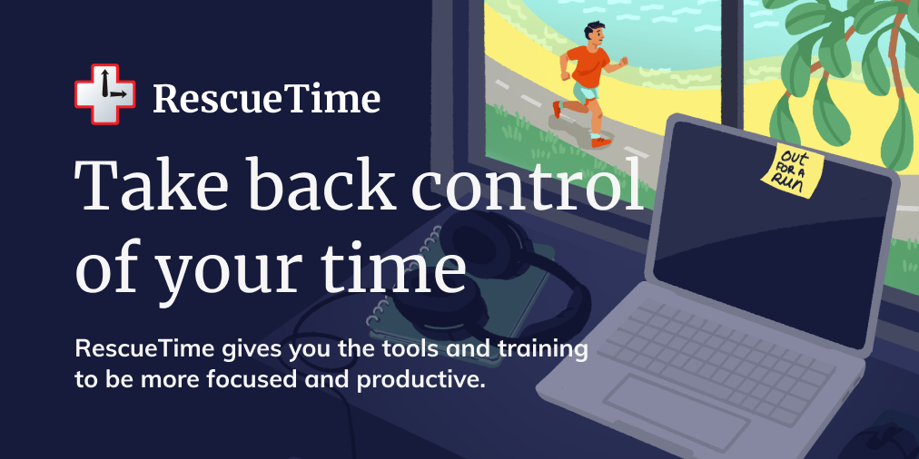 RecueTime helps you take back control of your time