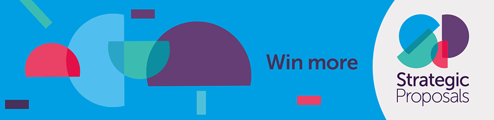 Strategic Proposals and we're going to help you win new work and retain existing work by helping you create winning proposals, pitches and sales .
