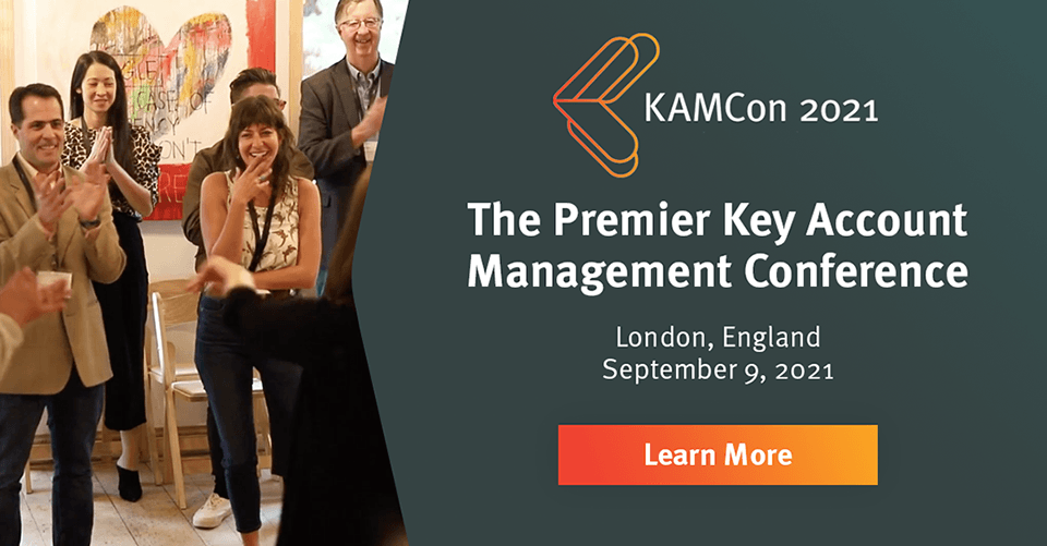 KAMCon London is the premiere key account management conference in 2021